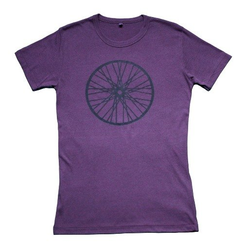 Image of Black Wheel T-Shirt from Route Clothing