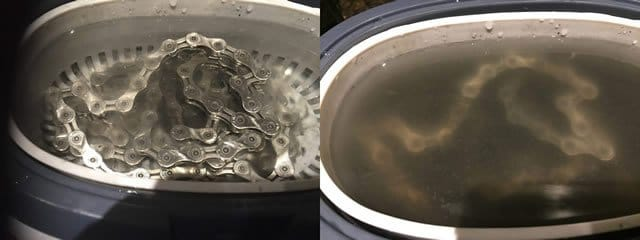 Ultrasonic Cleaning Before and After