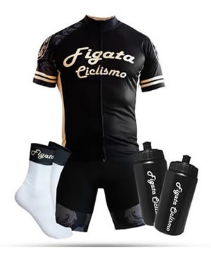 Figata Ciclismo Cycling Kit for Men