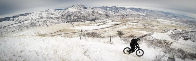 Winter Cycling Image Courtesy of Singletracks
