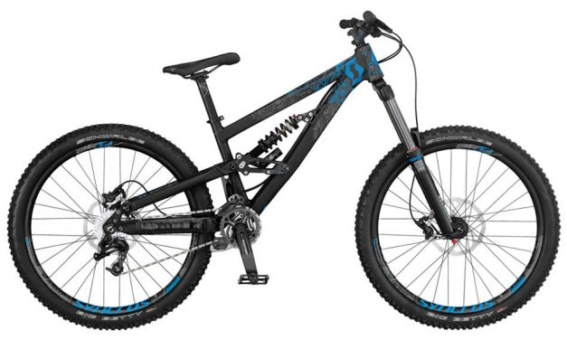 Scott Voltage FR Mountain Bikes Review