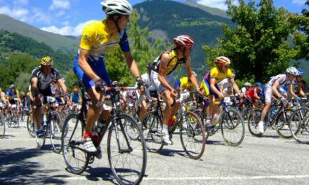 Cycling on Mont Ventoux