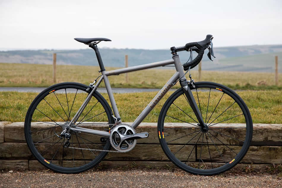Advantages of Titanium Bike Frames
