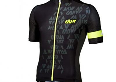 JAW Crystal Mens Jersey in Black/Yellow